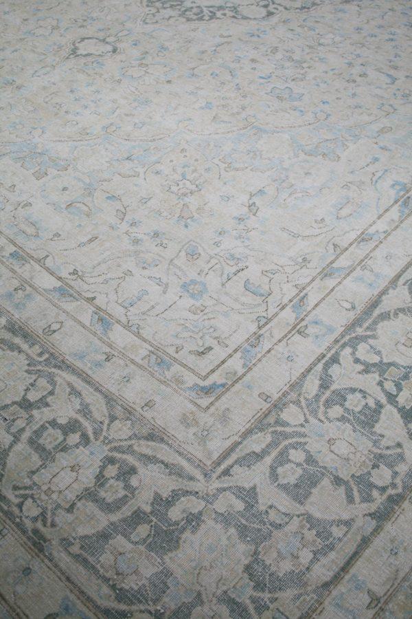antique persian rug close up
