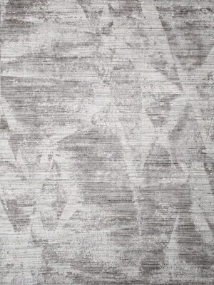 silver grey abstract rug