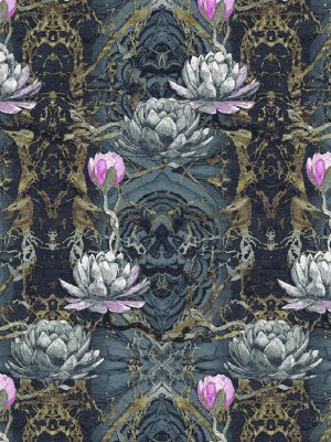 floral rug