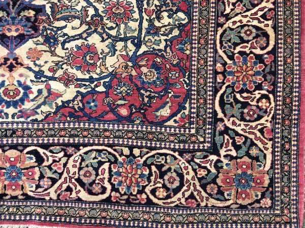 Isfahan Antique Rug