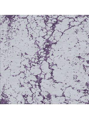 grey and purple rug