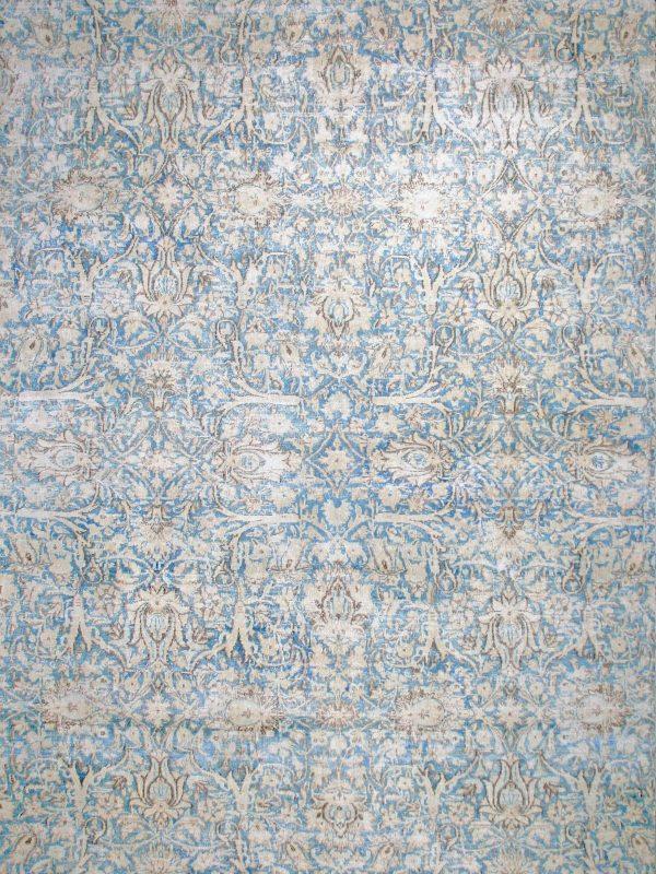blue vintage rug classic