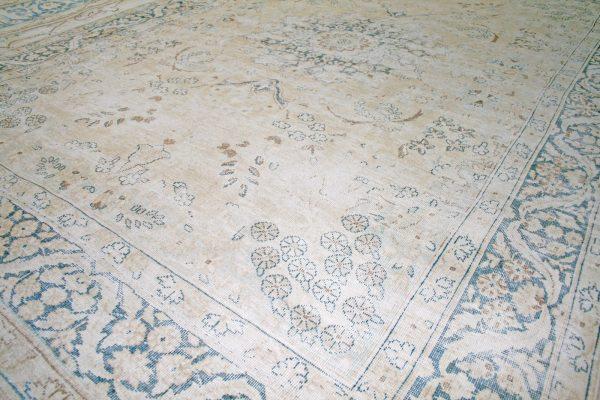 distressed persian rug