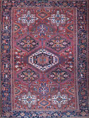 decorative heriz rug antique