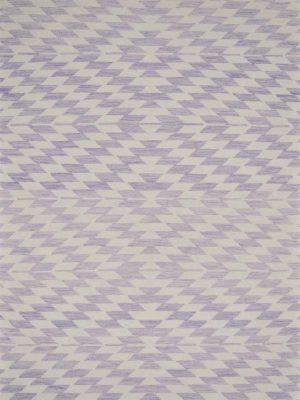 purple geometric kelim