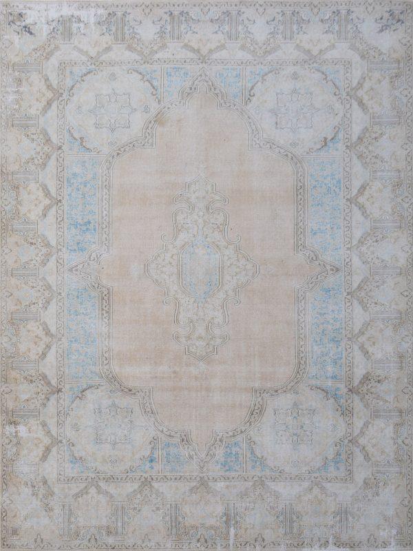 distressed vintage rug