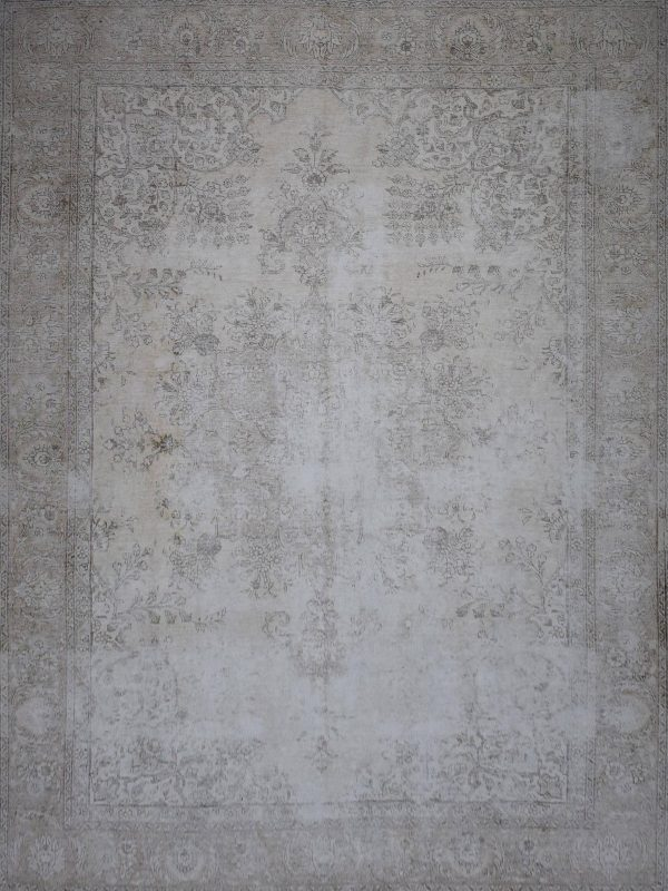 washed out vintage persian rug