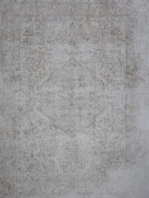 washed out persian rug