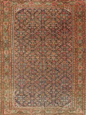 antique farahan rug in long and thin size