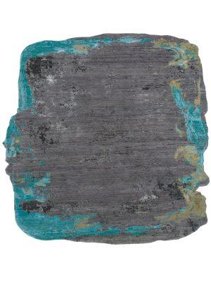 edgy modern rug with irregular jagged edges