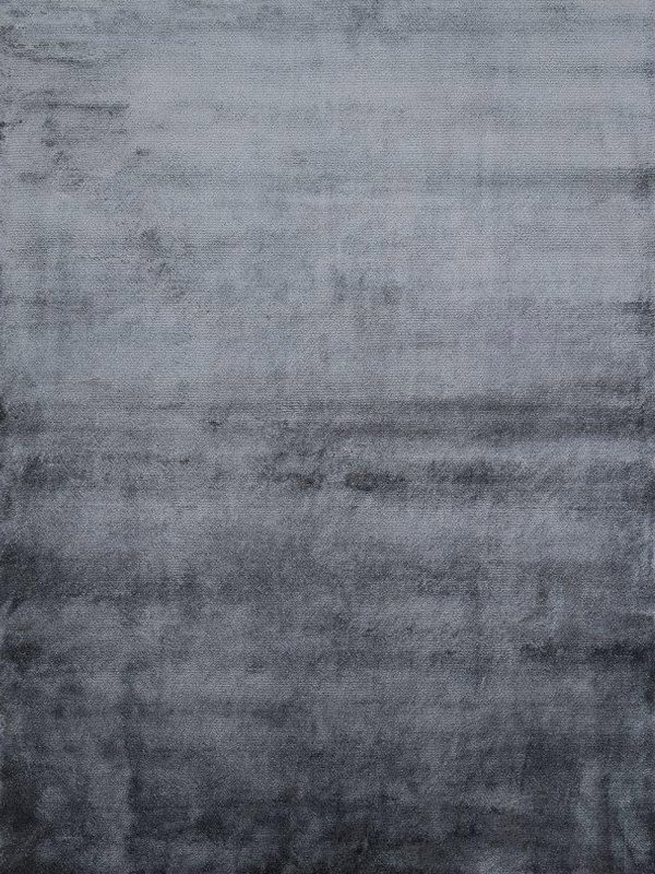 dark grey art silk rug