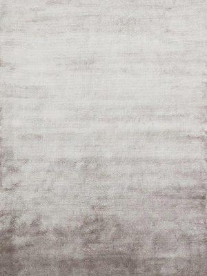 silver grey viscose rug