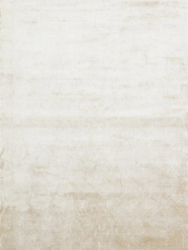cream silk look rug